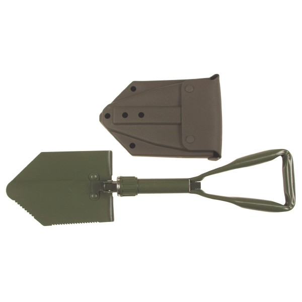 Klappspaten, neues BW Modell mit Tasche