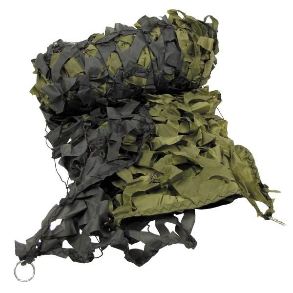 Tarnnetz 6x3m olive mit Tragebeutel
