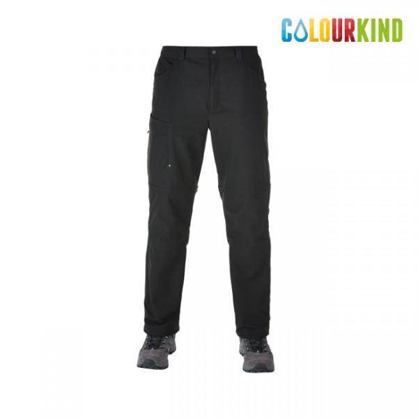 Explorer Eco Zip Off Pant Black