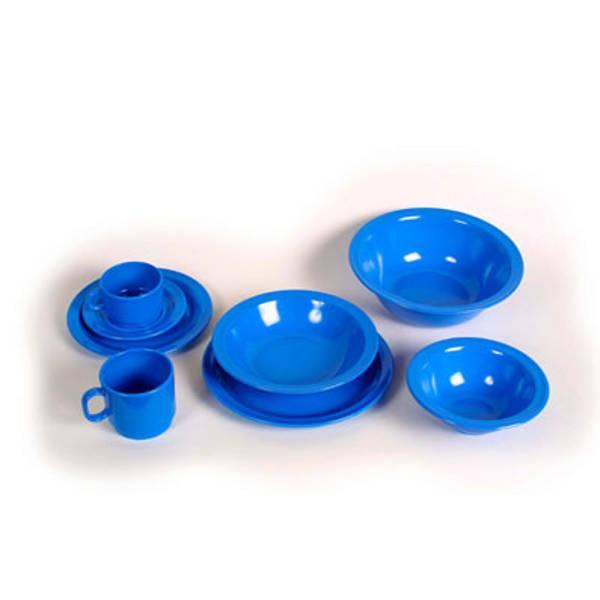 Melamingeschirr, blau