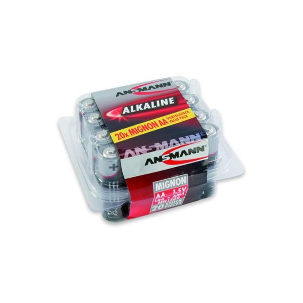 RED Alkaline 1,5V Mignon AA 20er Box