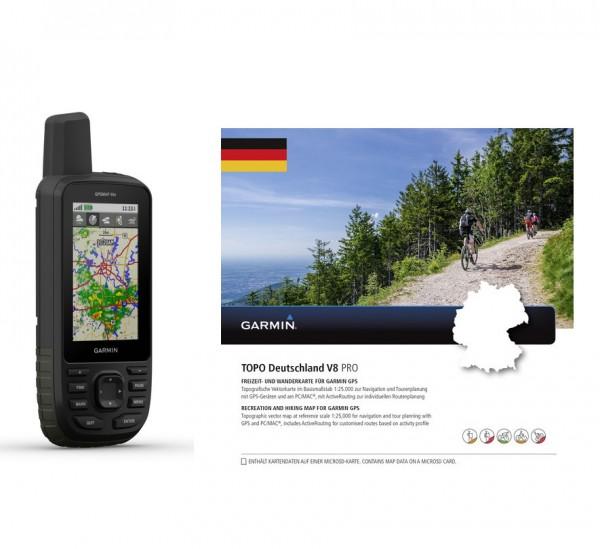 GPSmap66s inkl. TOPO Deutschland V8 Bundle