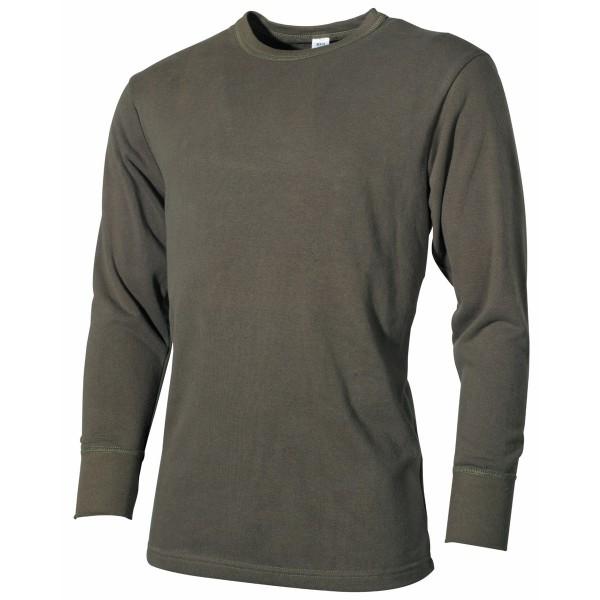 Langarm Shirt / Unterhemd Baumwolle
