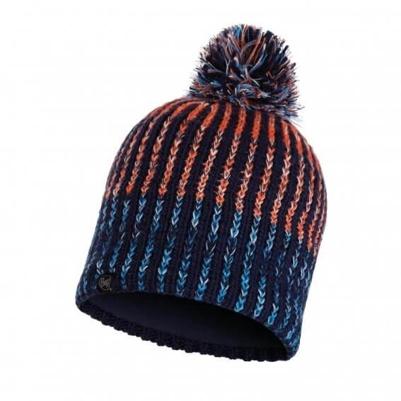 Knitted & Polar Hat Iver Medieval Blue