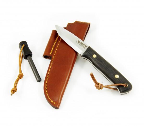 Woodsman K720 Outdoormesser Eiche 9cm mit Firestarter