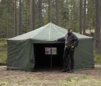 FDF 10-JSP Tent / Gruppenzelt mit Gestänge