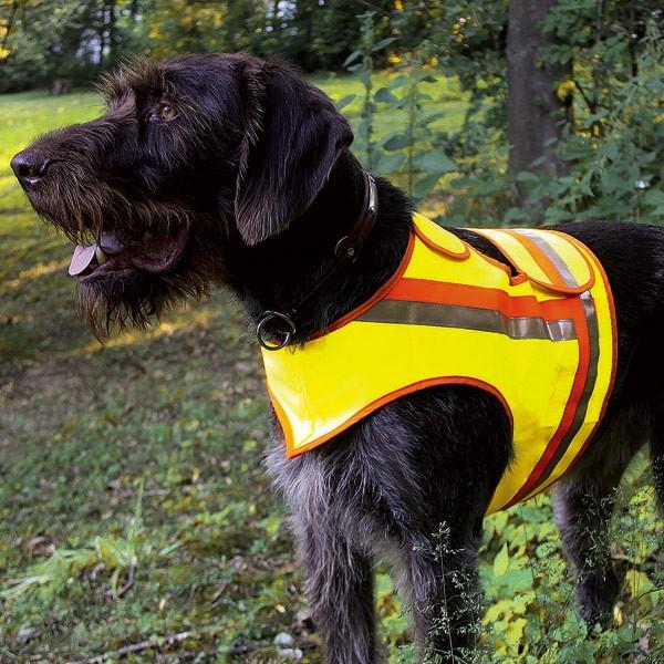 Warnweste / Reflektorweste Hund