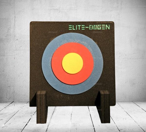 Zielscheibe mit Ständer und Auflage 80x7cm - bis 45 lbs