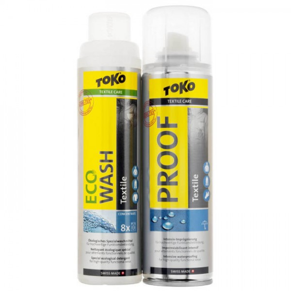 Duo-Pack Textile Proof & Eco Textile Wash (2x250ml)