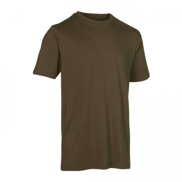T-Shirt 2er Pack Green/Brown Leaf