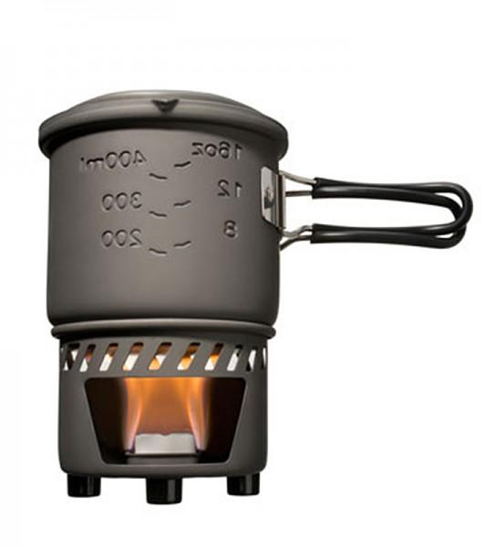 Trockenbrennstoff-Kochset