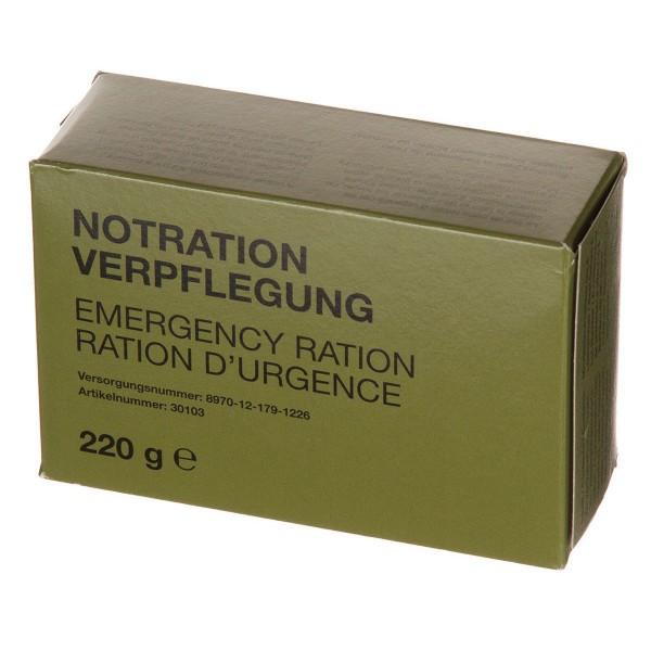 BW Notration-Verpflegung, 1 Packung, 220 g