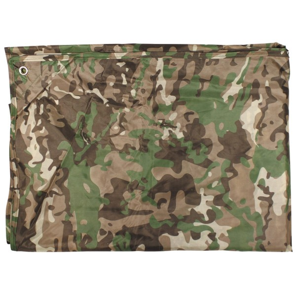 Mehrzweckplane Abdeckplane Tarp 3x3m Camouflage