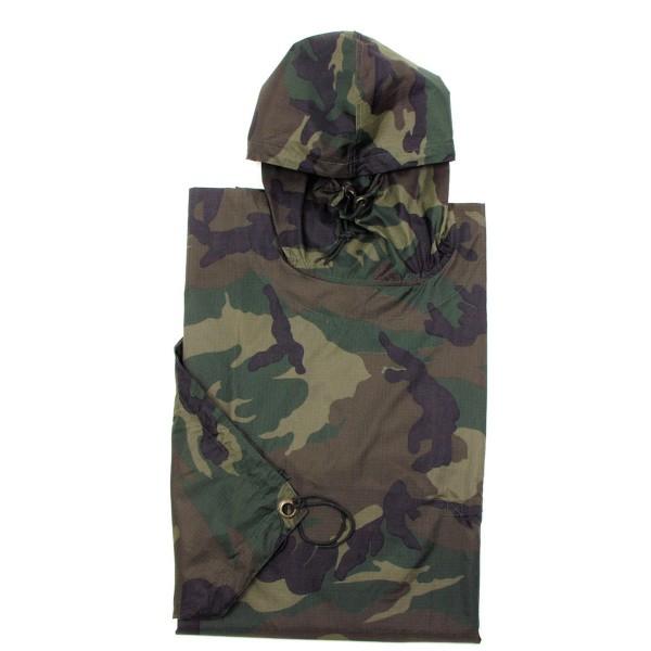 Regenponcho Ripstop Camouflage