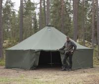 FDF 20 Gruppenzelt / Base-Camp Zelt mit Gestänge