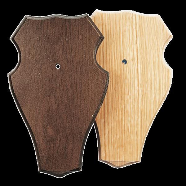 Trophäenschild Rehbock 18x11cm 5 Stück