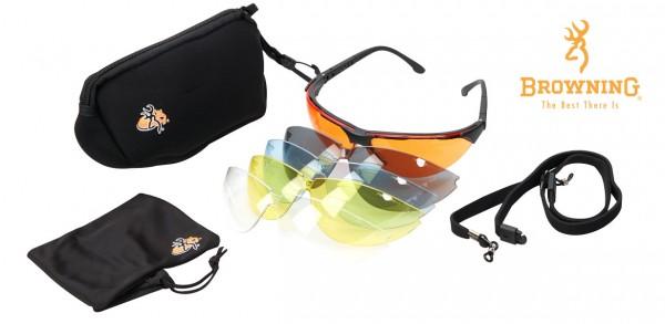 Schiessbrille Claymaster inkl. Zubehör
