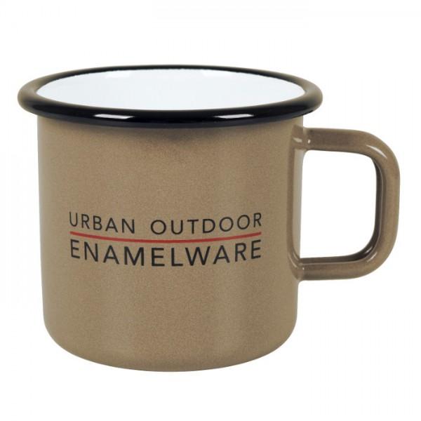 Enamel Campfire Mug Taupe