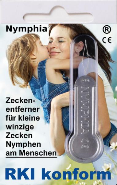 Nymphia Zeckenentfernung