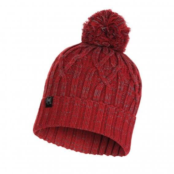 Knitted & Polar Hat Idun Rojo Red