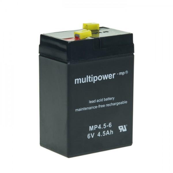 Multipower Blei-Akku 6V, 4,5Ah