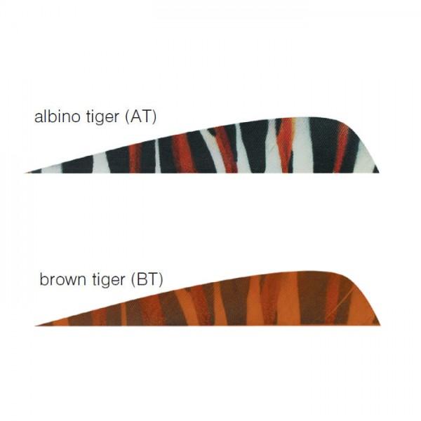 Printz Tiger 4'' Naturfeder Parabol