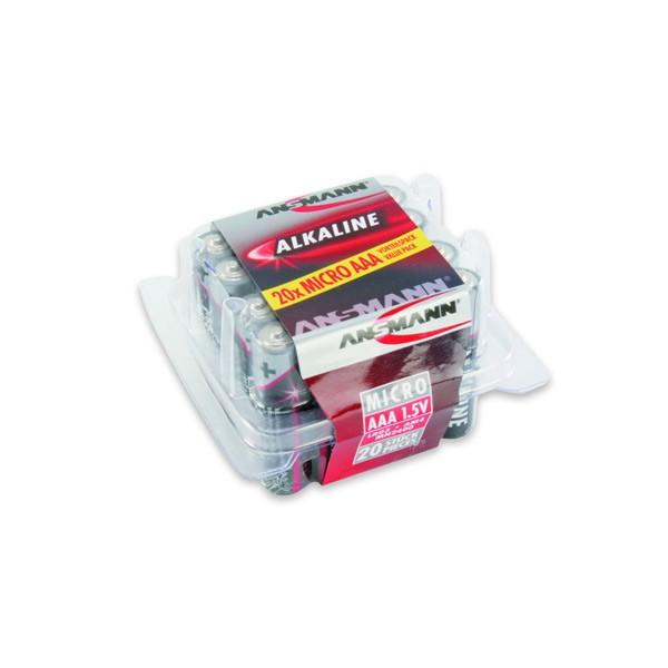 RED Alkaline Mikro AAA Batterie 20er Box 1,5V