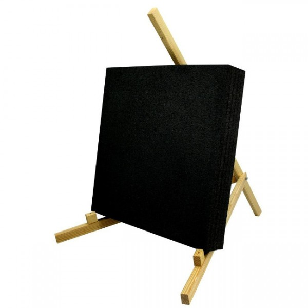Bodenständer aus Holz für Zielscheiben