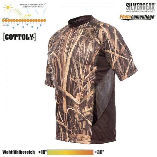 Ventilated SS T-Shirt Schilf