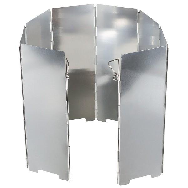 Windschutz, Alu, faltbar, groß, 8 Lamellen, 67 x 24 cm