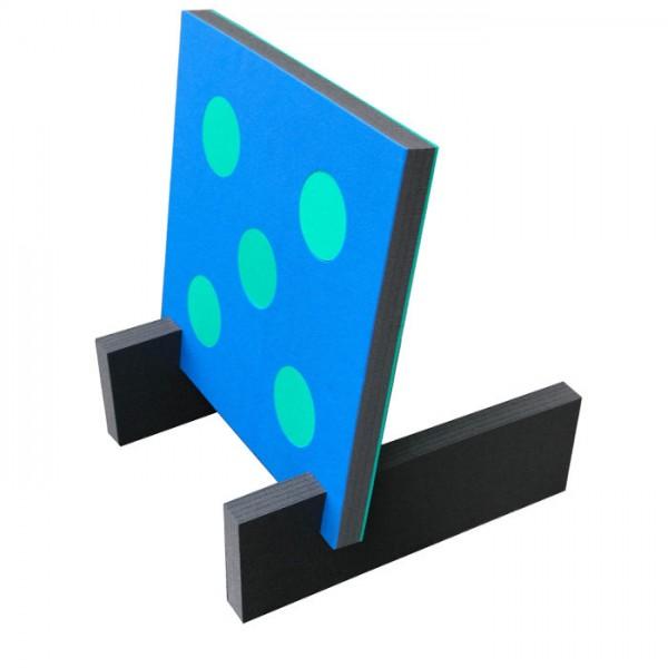 LARP Zielscheibe 60x60x5cm mit Ständer