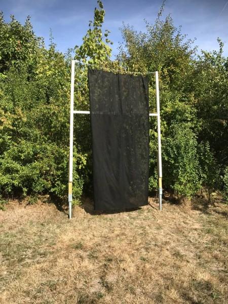 Pfeilfangnetz Schwarz Ultra Safe 2x3m