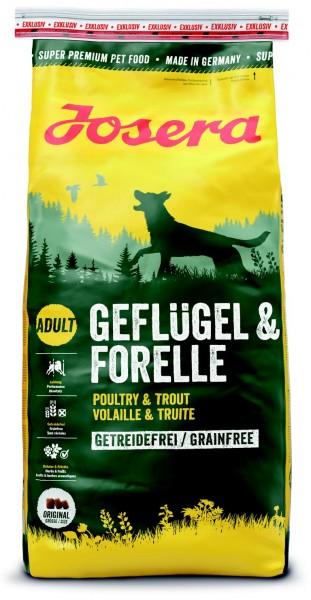 Exklusiv Geflügel & Forelle 15kg