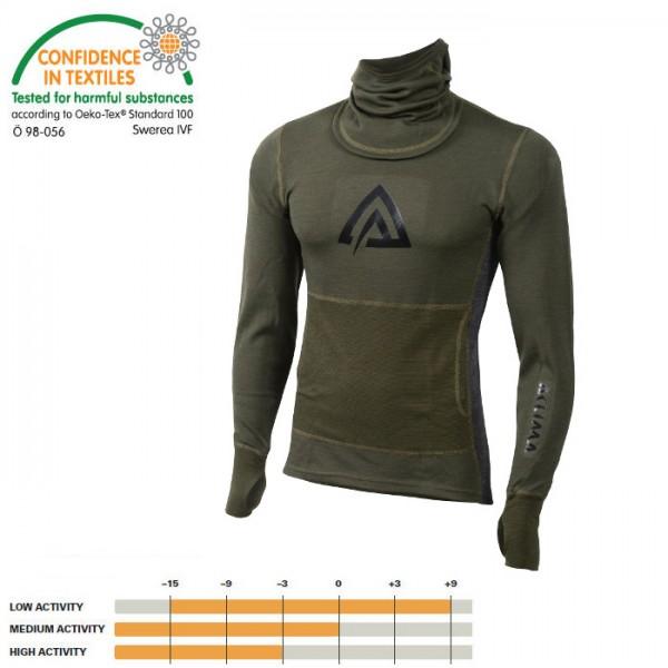 Warmwool Hood Sweater Women 200g/qm