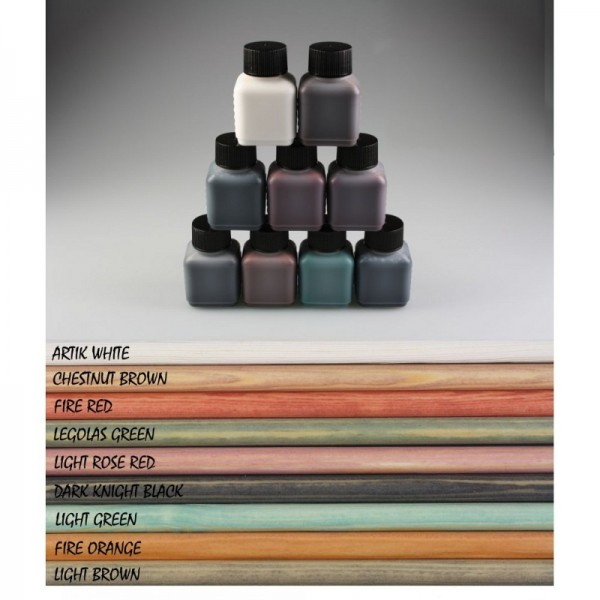 Spezial-Pfeilbau-Farben